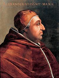 Alejandro VI, Papa