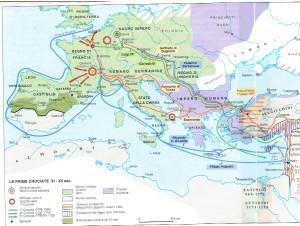 Tres primeras cruzadas (siglos XI-XII)